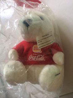 Authentic Premium BURGER KING   COCA COLA vintage POLAR Bear from Thailand