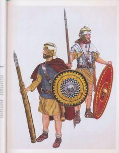 Roman legionaries, conquerors of Parthia, 3rd century AD