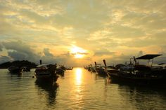 SUNRISE AT KOH LIPE,SATUN,THAILAND