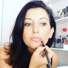 Roses & Berries: Fall Quick Lips, Brighten your entire face with this quick makeup trick #brightlips #pink #liner #hyperlapse #selfielapse #roses #MAC #beauticontrol #Cledepeaubeauteus #concealer #beautytutorial