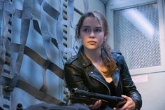 Emilia Clarke in Terminator Genisys (2015)    © 2015 Paramount Pictures. All Rights Reserved.