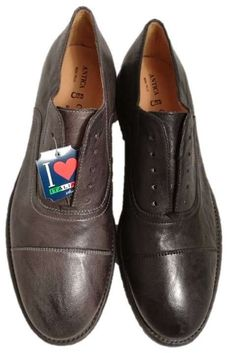Italian leather slip on shoes, by Antica Cuoieria by Antica Cuoieria. Buy it 69,00 €