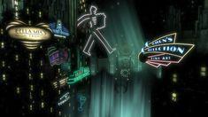 ArtStation - BioShock (Irrational Games), Digital Frontiers Bioshock Series, Art Direction, Storytelling, Darth Vader, Neon Signs, Fine Art, Digital, Irrational Games, Artwork