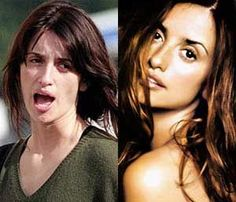 Penelope-Cruz Without Makeup - Stars without Make Up - Celebrity Stil Celebrities Before And After, Celebrities Then And Now, Penelope Cruz, Cellulite, Celebs Without Makeup, Makeup Before And After, Power Of Makeup, Celebrity Gallery, No Photoshop