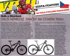 """The Czech cycling magazine """"VELO"""" features the award-winning Silverback Sesta!  #teamsilverback #silverback #silverback2015 #silverbacktechnologies #bicycle #cycling #bike #born_to_ride #Silverback_Tech #MTB #carbonbikes #DrivenBySpeed #SBC #SESTA #VELOmag #CzechVELOmag — in Stuttgart, Germany."""
