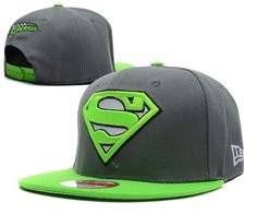 official photos de19f 86be9 RSS Product Feed    Wholesale - Cheap Superman Snapback Hats New Era Gray  Green
