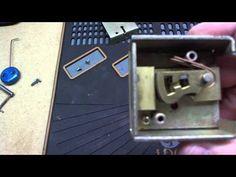 G & C 7 Lever Safe Lock - YouTube