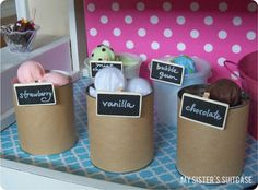 Didnt want a whole ice cream stand, i was thinking of a shelf in her play market...this is so cute though