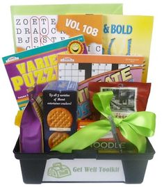 Get Well Recovery Tool Box | Buy at All About Gifts & Baskets (http://www.aagiftsandbaskets.com/get_well_tools_gift_basket.html)