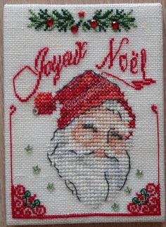 Joyeux Noël Christmas Cross, Cross Stitch Embroidery, Ornament, Crochet, Ideas, Scrappy Quilts, Dressmaking, Merry Little Christmas, Projects
