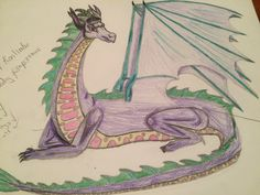 First dragon drawing