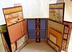 Scrapbook Mini Album Handmade Featuring Graphic 45 ABC Primer Premade    eBay