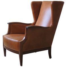 Modern Wing Chairs impressive distressed leather wing back chair | wingback chairs