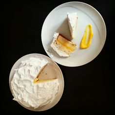 White Lemon cake