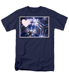 Denim Heart T-Shirt by Joan-Violet Stretch