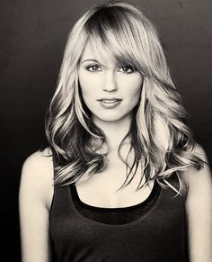 Diana Agron. like the bangs only the rest of the layers need to be longer