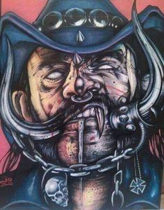 Lemmy tell ya something Black Metal, Heavy Metal Art, Heavy Metal Rock, Heavy Metal Bands, Heavy Metal Tattoo, Hard Rock, Rock And Roll, Metal Artwork, Thrash Metal