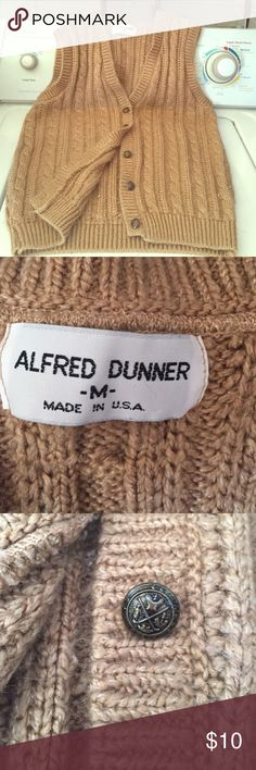 Sexy little sweater vest So sexy and like new Alfred Dunner Sweaters Cardigans