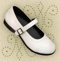 Aris Allen White Wingtip Athletic Mary Jane Swing Dance Shoe size 8 $49.95 Swing Dance Shoes, Swing Dancing, Gothic Corset, Gothic Lolita, Gothic Steampunk, Victorian Gothic, Steampunk Clothing, Steampunk Fashion, Emo Fashion
