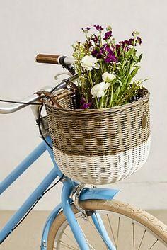 Pretty bike basket