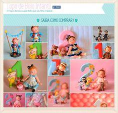 Maria Chiquinha: Promoção topos de bolos infantis!