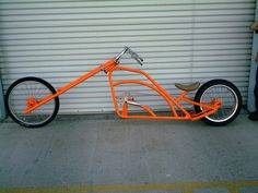 That is one sick chopper bicycle Recumbent Bicycle, Cruiser Bicycle, Motorized Bicycle, Trike Bicycle, Bicycle Wheel, Custom Choppers For Sale, Custom Bikes, Velo Vintage, Vintage Bicycles
