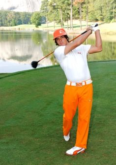 Click on the picture to read a great interview with Rickie Fowler about the exercises he does to stay in shape.