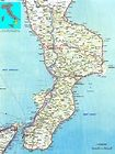 Calabria Map Related Keywords & Suggestions - Calabria Map Long Tail ...