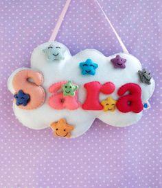 Felt name- Sara
