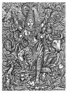 Siva by Anikar