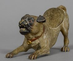 Buy online, view images and see past prices for A cold painted bronze pen wipe formed as a pug dog 13 cm wide. Invaluable is the world's largest marketplace for art, antiques, and collectibles. Sculptures, Lion Sculpture, New Pen, Pen Nib, Dog Paintings, Pug Love, Bronze Sculpture, Dog Art, Vienna