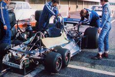 1977 タイレルP34 六輪車 資料室 特別編1ヘッドレスト