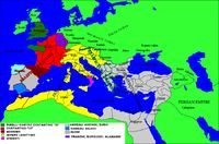 Sono state avanzate molte ipotesi per spiegare la decadenza dell' Impero e la sua fine, dall' inizio del suo declino nel terzo secolo [1...