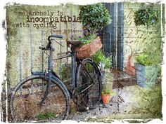 Bicycle outside Lavender Grey shop in Belper.   Flickr - Photo Sharing!