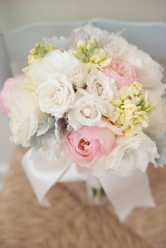 romantic rose bouquet | Photo by Nichole Burnett Photography, Event Planning by Shelby Peaden Events, Floral Design by Myrtle Blue
