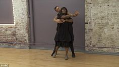 Rehearsals: Because of her injury, Patti has had to cut-short rehearsals with partner Arte...