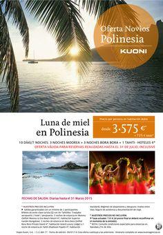 Luna de Miel en Polinesia * Venta Anticipada * ultimo minuto - http://zocotours.com/luna-de-miel-en-polinesia-venta-anticipada-ultimo-minuto/
