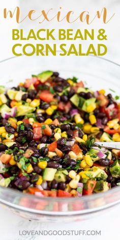 Mexican Black Bean and Corn Salad