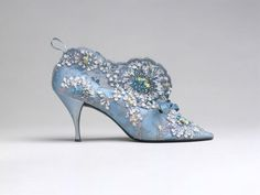 Roger Vivier at the Bata Shoe Museum. The exhibition features an exquisite display of his bejeweled and elegantly sculptural shoes which have been found on the feet of elegant women around the world.