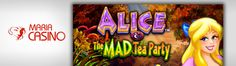 You can now play the Alice & The Mad Tea Party slot at Unibet Casino – read about the WMS game and how to get up to £200 free when you join: http://www.casinomanual.co.uk/deposit-10-20-free-play-alice-mad-tea-party-slot/