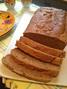 Grain Free Paleo Bread #TheSaffronGirl