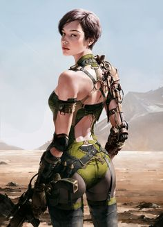 The exquisite fantasy and sci-fi themed character artworks of Siwoo Kim, a concept artist and illustrator working in the video game and movie industry. Arte Final Fantasy, Fantasy Anime, Fantasy Girl, Fantasy Character, Character Art, Character Design, Character Concept, Character Portraits, Art Manga