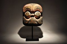 19th Century Carved Temple Mask | From a unique collection of antique and modern more asian art, objects and furniture at https://www.1stdibs.com/furniture/asian-art-furniture/more-asian-art-furniture/