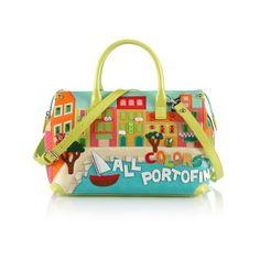 Tutti i colori di #portofino nella nuova borsa di #braccialini!