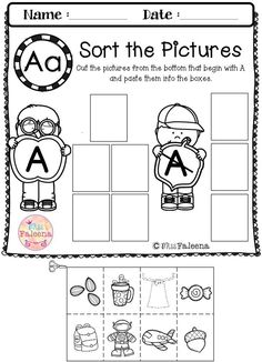 Letter of the Week A is designed to help teach letter A