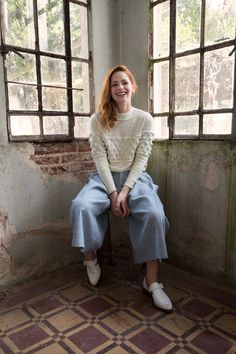 Picos sweater Merino wool #trend #style #knitwear