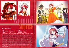 Sakura Wars V (US/PS2) Artbook Scans 2/4 | Some sample pages… | Flickr Sakura Wars, Book Art, Altered Books
