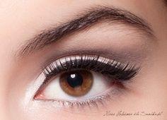 I love white eye makeup