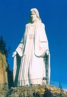 Our Lady of the Rockies 3100 Harrison Ave Butte, Montana  59701 Phone : (800) 800-Lady (406) 782-1221