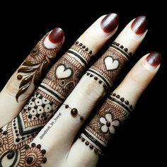 Finger mehndi                                                       …                                                                                                                                                                                 More